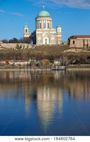 Basilica of Esztergom city in Hungary, Europe