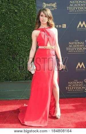PASADENA - APR 28: Celeste Fianna at the 44th Daytime Creative Arts Emmy Awards Gala at the Pasadena Civic Centerl on April 28, 2017 in Pasadena, California