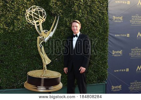 PASADENA - APR 28: Brad Bell at the 44th Daytime Creative Arts Emmy Awards Gala at the Pasadena Civic Centerl on April 28, 2017 in Pasadena, California