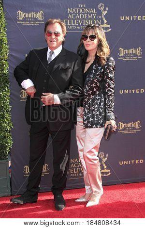 PASADENA - APR 28: Thaao Penghlis, Lauren Koslow at the 44th Daytime Creative Arts Emmy Awards Gala at the Pasadena Civic Centerl on April 28, 2017 in Pasadena, California