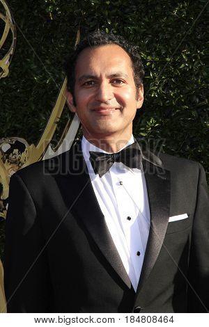 PASADENA - APR 28: Vivek Maddala at the 44th Daytime Creative Arts Emmy Awards Gala at the Pasadena Civic Centerl on April 28, 2017 in Pasadena, California