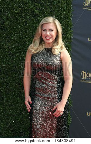 PASADENA - APR 28: Sainty Nelsen at the 44th Daytime Creative Arts Emmy Awards Gala at the Pasadena Civic Centerl on April 28, 2017 in Pasadena, California