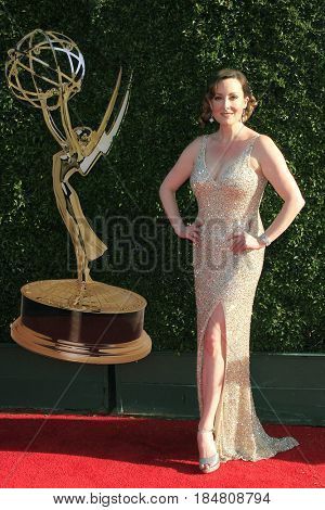 PASADENA - APR 28: Laura Dickinson at the 44th Daytime Creative Arts Emmy Awards Gala at the Pasadena Civic Center on April 28, 2017 in Pasadena, California