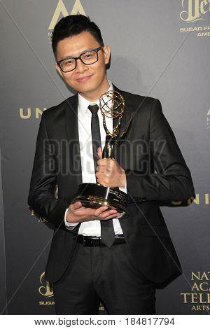 PASADENA - APR 28: Khang Le at the 44th Daytime Creative Arts Emmy Awards Gala at the Pasadena Civic Center on April 28, 2017 in Pasadena, CA
