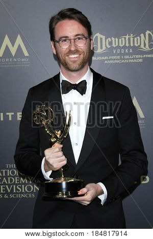 PASADENA - APR 28: John Carlson at the 44th Daytime Creative Arts Emmy Awards Gala at the Pasadena Civic Center on April 28, 2017 in Pasadena, CA