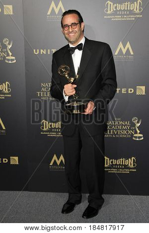 PASADENA - APR 28: Roy Bank, Outstanding Lifestyle Program, Flea Market Flip at the 44th Daytime Creative Arts Emmy Awards Gala at the Pasadena Civic Center on April 28, 2017 in Pasadena, CA