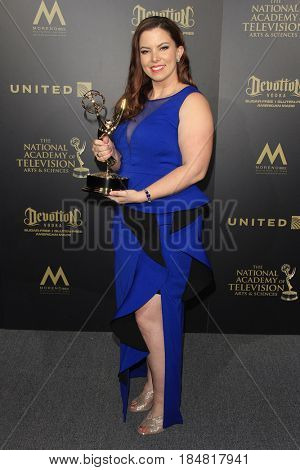 PASADENA - APR 28: Jenna Servatius at the 44th Daytime Creative Arts Emmy Awards Gala at the Pasadena Civic Center on April 28, 2017 in Pasadena, CA
