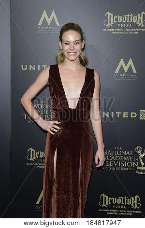 PASADENA - APR 28: Chloe Lanter at the 44th Daytime Creative Arts Emmy Awards Gala at the Pasadena Civic Center on April 28, 2017 in Pasadena, CA
