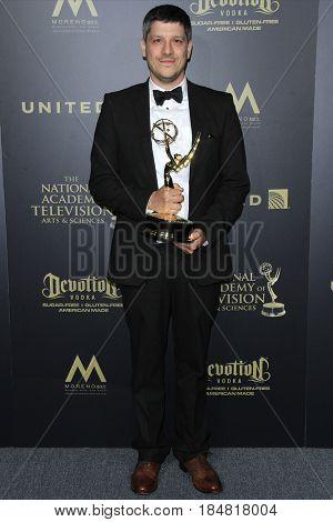 PASADENA - APR 28: Outstanding Sound Mixing â?? Live Action, The Mind Of A Chef at the 44th Daytime Creative Arts Emmy Awards Gala at the Pasadena Civic Center on April 28, 2017 in Pasadena, CA