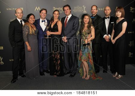 PASADENA - APR 28: Outstanding Travel and Adventure Program, Wonder Women at the 44th Daytime Creative Arts Emmy Awards Gala at the Pasadena Civic Center on April 28, 2017 in Pasadena, CA