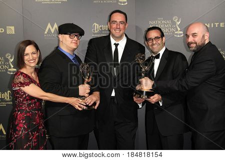 PASADENA - APR 28: Outstanding Lifestyle Program, Flea Market Flip at the 44th Daytime Creative Arts Emmy Awards Gala at the Pasadena Civic Center on April 28, 2017 in Pasadena, CA