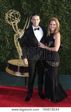 PASADENA - APR 28: Joshua Johnson at the 44th Daytime Creative Arts Emmy Awards Gala at the Pasadena Civic Center on April 28, 2017 in Pasadena, California