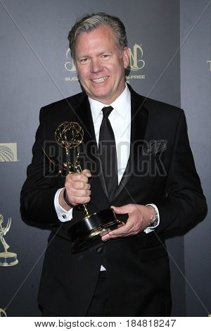 PASADENA - APR 28: Chris Hansen, Outstanding Multiple Camera Editing, Crime Watch Daily With Chris Hansen at the 44th Daytime Creative Arts Emmy Awards Gala on April 28, 2017 in Pasadena, CA