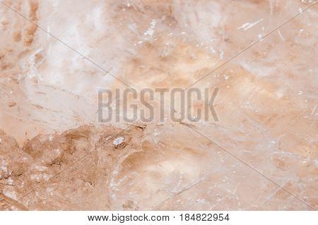 Marienglas White Rosa Gemstone Gem Jewel Mineral Precious