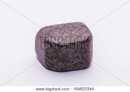 Purple Brown Striped Gemstone Gem Jewel Mineral Precious Shiny