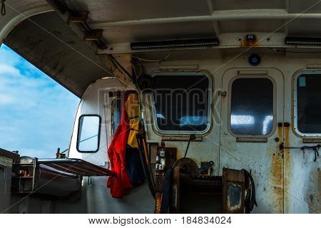 The Fishing Boat's Interior, The Right Side Of The Boat, The Fishing Tools, The Fishing Industry
