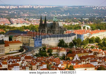 Prague Castle. Largest Intact Castle in the world