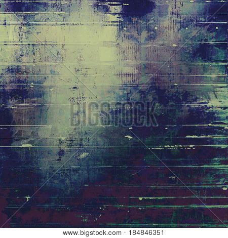 Grunge antique frame, vintage style background. With different color patterns: yellow (beige); brown; blue; gray; purple (violet); cyan