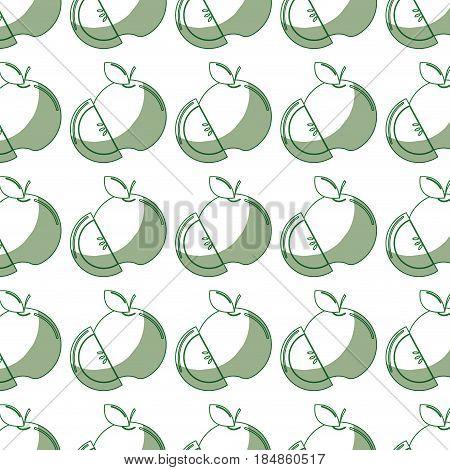 delicious apple fruit background stock, vector illustration design image
