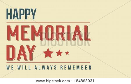 Background memorial day theme style collection stock