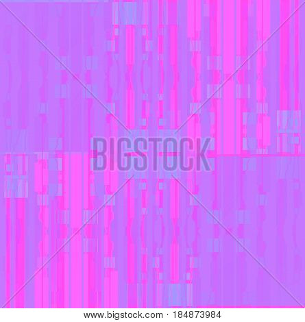 Abstract geometric seamless background. Regular squares and stripes pattern pink, violet and purple shifted.