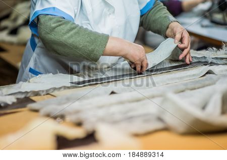 Workers in production process, background, work, industry,
