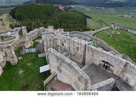 Spis castle (Spissky hrad), Slovakia