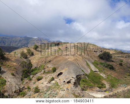 Inland Gran Canaria, April