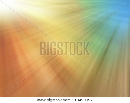 Abstract colored sun-rays texture