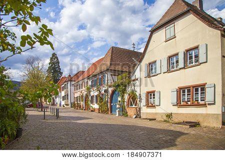 Theresienstraße In Rhodt  Landkreis  Suedliche  Weinstraße Rheinland Pfalz Germany