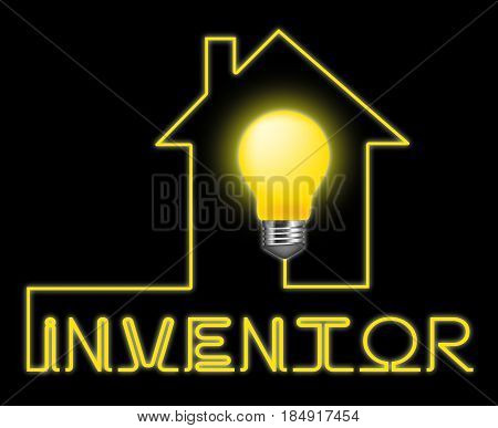 Inventor Light Meaning Innovating Invents And Innovating poster