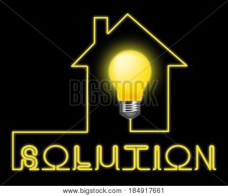 Solution Light Represent Solving Successful And Resolution