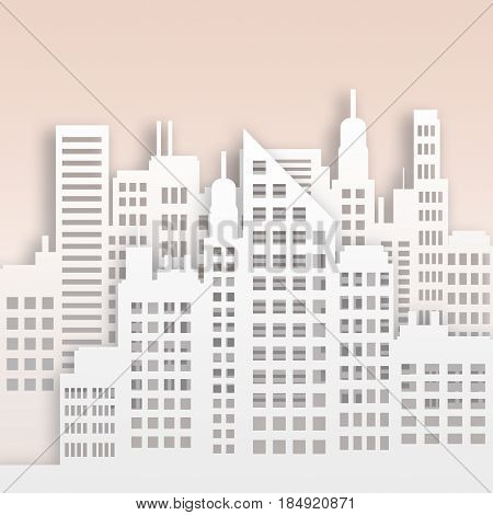 Skyscraper Buildings Displaying Corporate Cityscape 3D Illustration
