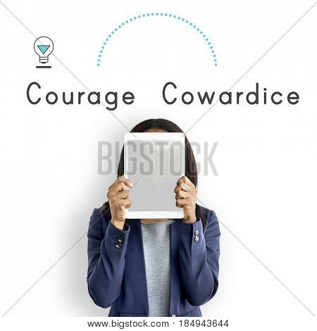Antonym Opposite Courage Cowardice Impossible Possible