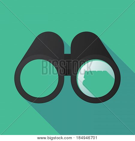 Long Shadow Binoculars With    The Text Hifi