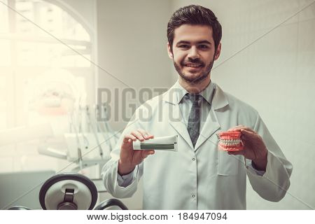 Handsome Young Dentist