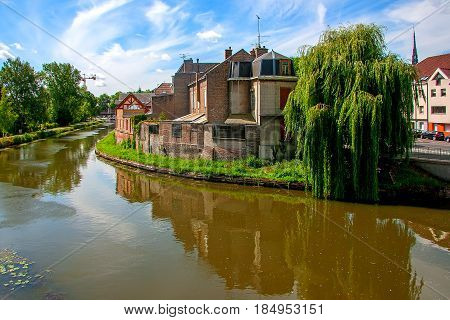 Amiens is a city in northern France, in the department of the Somme region of Picardie