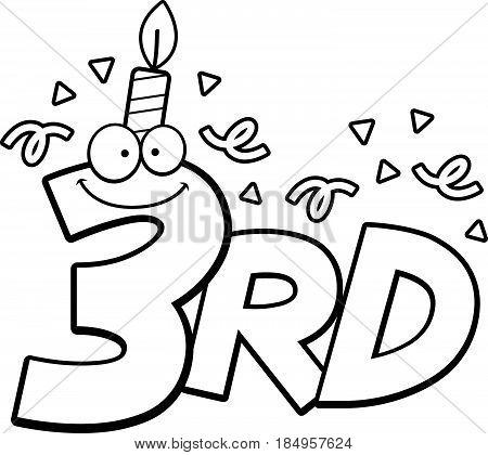 Cartoon 3Rd Birthday