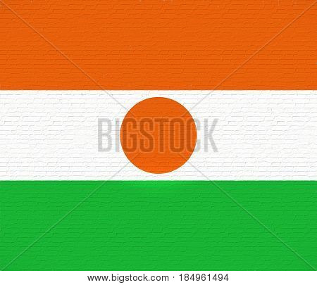 Flag Of Niger Wall.