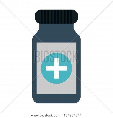 medication pills healthcare icon image vector illustration design