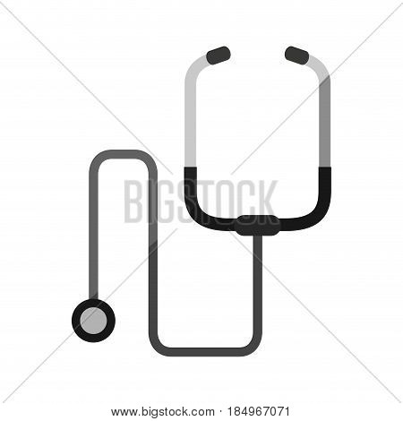 stethoscope healthcare icon image vector illustration design