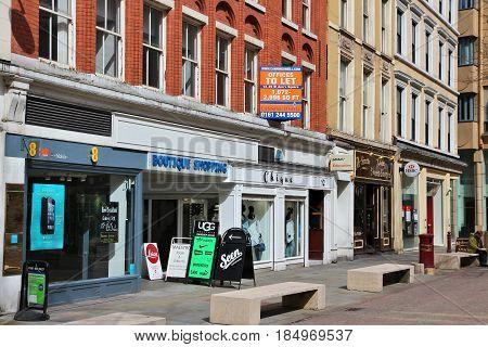 Manchester Shopping