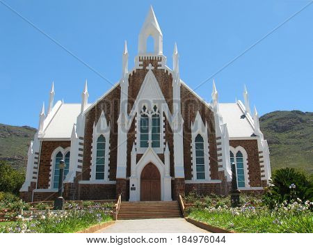 Church,Built In1880, Piketburg, Western Cape, South Africa