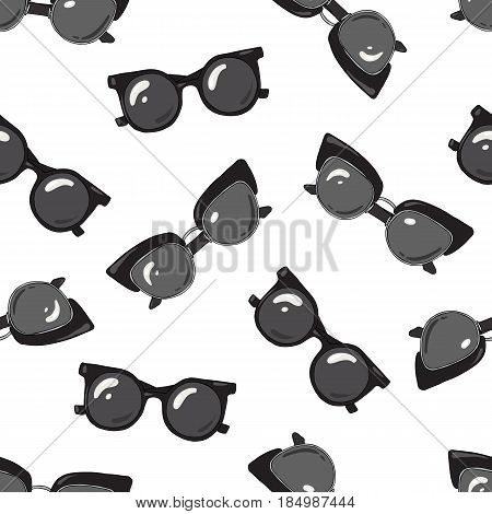 Pattern of sunglasses is of two types Seamless.