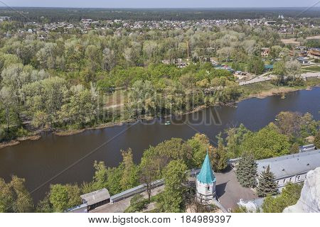 Siversky Donets River In Sviatohirsk, Spring