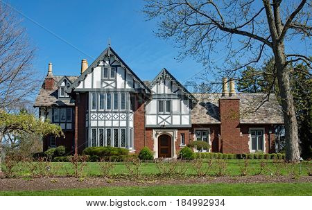 Fancy English Tudor House