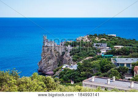 Castle Swallow S Nest Near Yalta In Crimea
