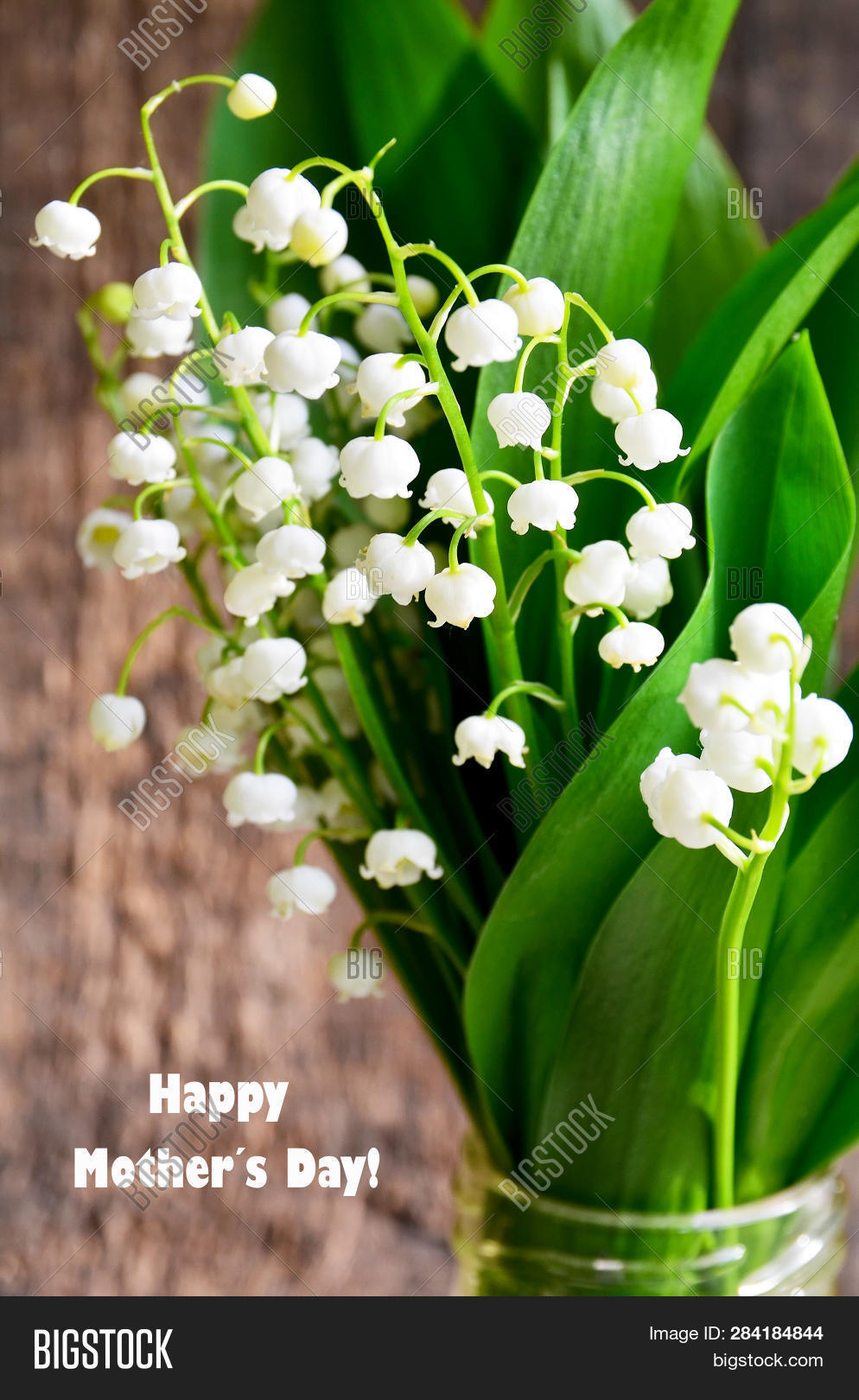 Bouquet Lilies Valley Image Photo Free Trial Bigstock