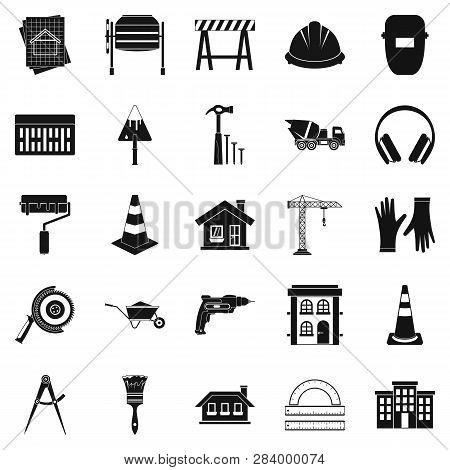 Undertaking Icons Set. Simple Set Of 25 Undertaking Icons For Web Isolated On White Background