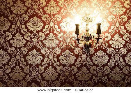 Vintage Interior With Copy Space